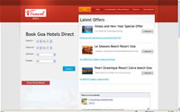 I travel Goa Hotel Portal